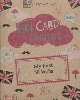 Fun Card English: My first 50 Verbs