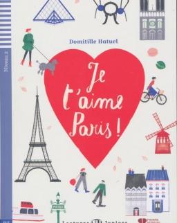 Je t'amie Paris - Lectures Eli Juniors Niveau 2 (A2)