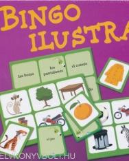 Bingo ilustrado. Para principiantes de la educación primaria.