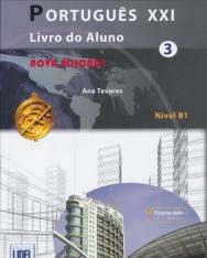 Portugues XXI 3 - Nova Ediçao Livro do Aluno + ficheiros áudio