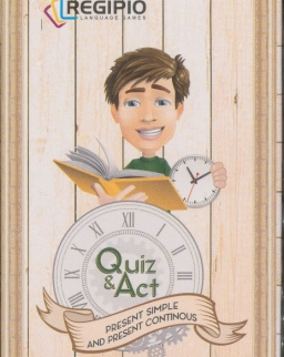 Quiz & Act - Present Simple and Present Continous - Kártyacsomag