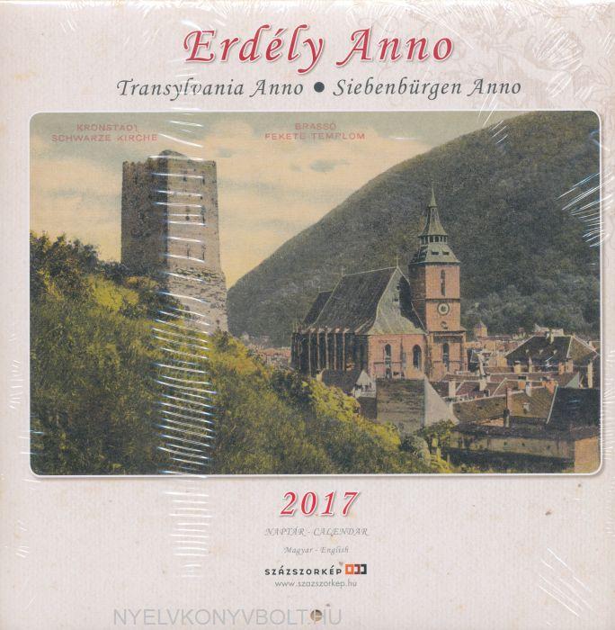 Erdély anno falinaptár 2017 (22x22)