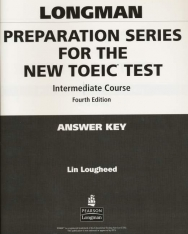 Longman Preparation Series for the New TOEIC Test Intermediate Course Answer Key 4th Edition