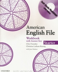 American English File Starter Workbook with Answer Key and Self-Study Multirom