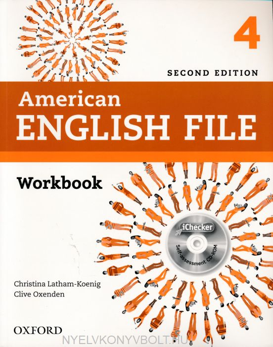 American English File 2nd Edition 4 Workbook with iChecker Self-assessment CD-ROM