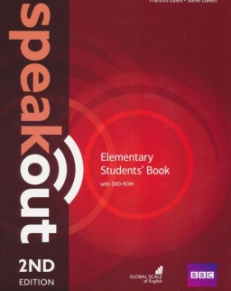 Speakout Elementary Student's Book with DVD-ROM - 2nd Edition