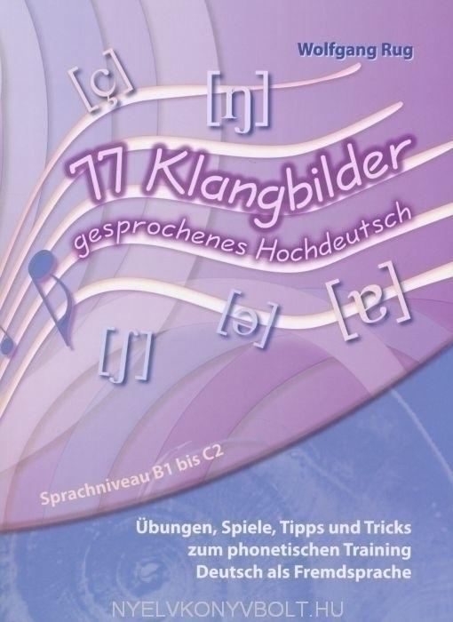 77 Klangbilder gesprochenes Hochdeutsch mit CD