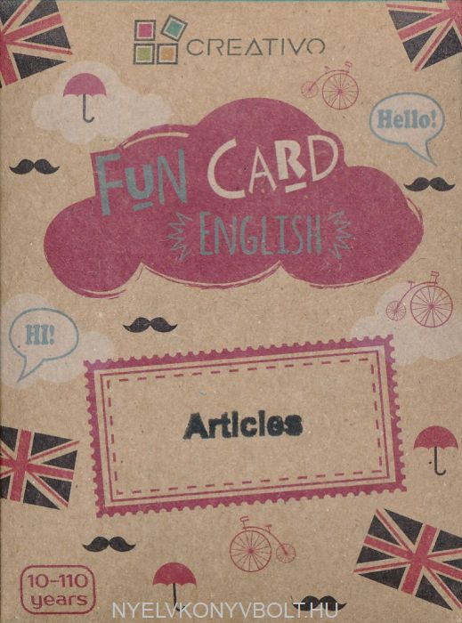Fun Card English: Articles