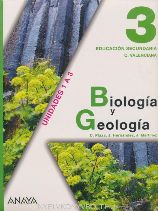 Biología y Geología 3. Educación Secundaria Unidades 1 A 3