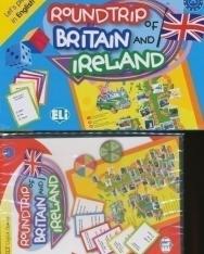 Roundtrip of Britain and Ireland with Digital Game (Társasjáték)
