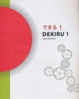 Dekiru 1 Japán nyelvkönyv kezdőknek. Audio CD (2) és szószedet mellékletekkel
