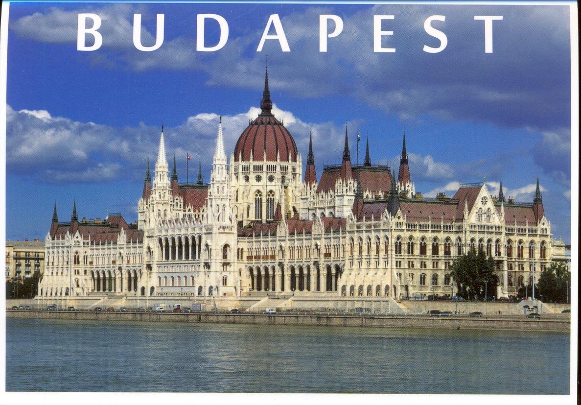 Budapest képeslap leporelló (8 képes)