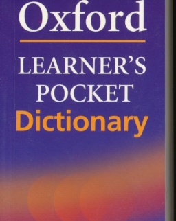 Oxford Learner's Pocket Dictionary - 4th Edition