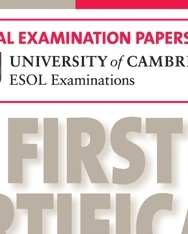 Cambridge First Certificate in English 1 Official Examination Past Papers Audio CDs (2) for Updated Exam 2008 (Practice Tests)