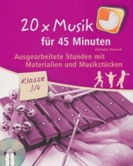 20 x Musik für 45 Minuten: Ausgearbeitete Stunden mit Materialien und Musikstücken