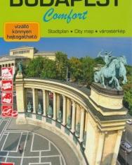 Budapest Comfort Várostérkép/City Map/Stadtplan