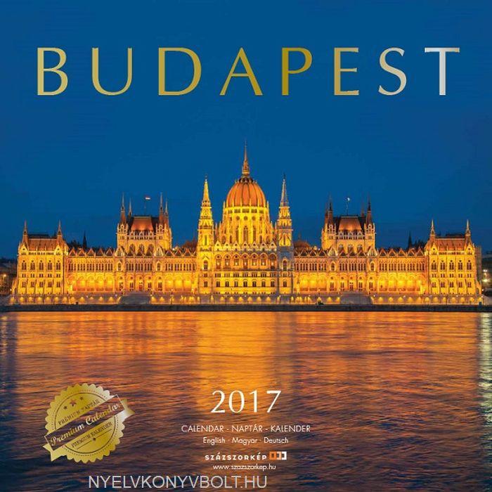 Budapest falinaptár 2017 (30x30)