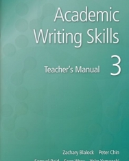 Academic Writing Skills 3 Teacher's Book - American English -