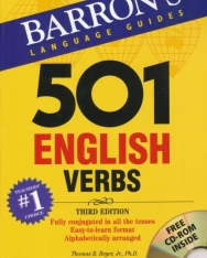 Barron's 501 English Verbs with CD-ROM