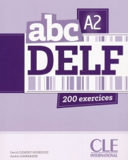abc DELF A2 200 exercices Livre + CD audio MP3