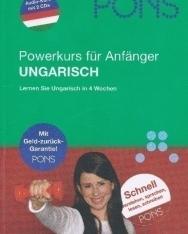 PONS Power-Sprachkurs Ungarisch - Lernen Sie Ungarisch in 4 Wochen - Buch mit 2 audio CDs