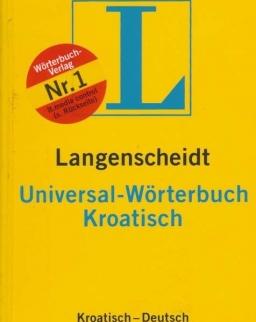 Langenscheidt Universal-Wörterbuch Kroatisch