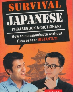 Survival Japanese - Phrasebook & Dictionary