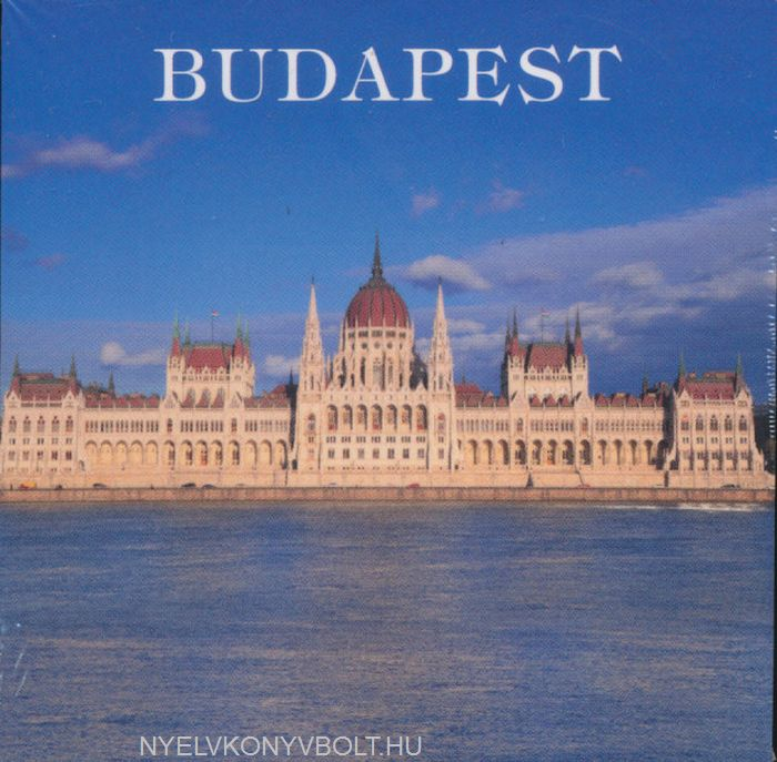 Budapest naptár (mágneses, 8x8 cm)