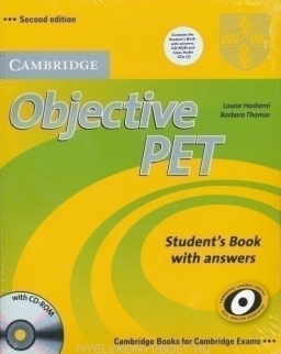 Objective PET Second Edition Student's Book with Answers and Audio CDs and CD-ROM