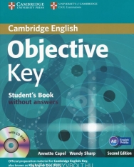 Objective Key Student's Book without Answers with CD-ROM Second Edition