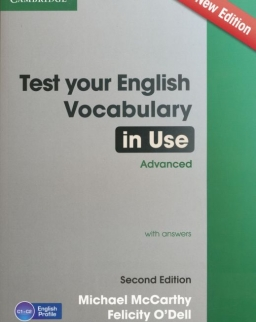 Test Your English Vocabulary in Use Advanced with Answers - Second Edition