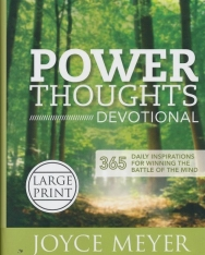 Joyce Meyer: Power Thoughts Devotional: 365 Daily Inspirations for Winning the Battle of the Mind