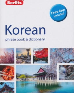Berlitz Korean Phrase Book & Dictionary - Free App included