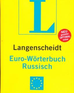 Langenscheidt Euro-Wörterbuch Russisch Neubearbeitung