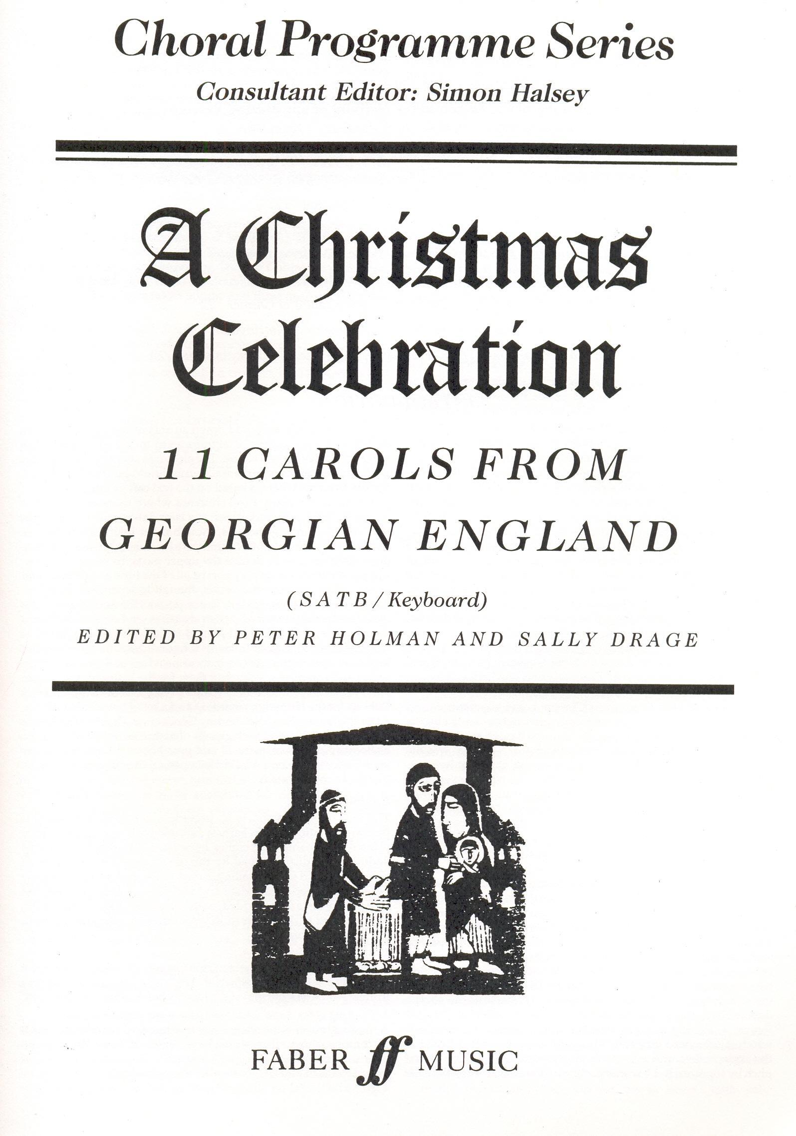 Christmas Celebration - vegyeskarra, zongorakísérettel
