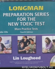 Longman Preparation Series for the New TOEIC Test More Practice Tests Audio CDs 4th Edition