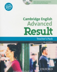 Cambridge English Advanced Result Teacher's Pack with DVD - For the 2015 Exam