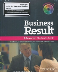 Business Result Advanced Student's Book with DVD-Rom and Skills for Business Studies Workbook Pack