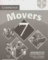 Cambridge Young Learners English Tests Movers 7 Answer Booklet