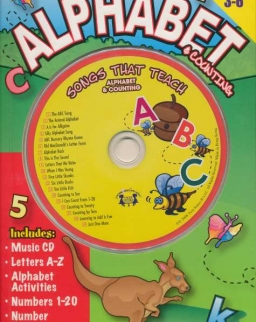Songs that Teach - Alphabet & Counting Activity Book with Audio CD