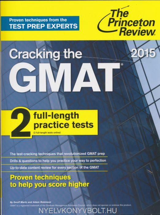 Cracking the GMAT 2015