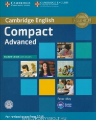 Cambridge English Compact Advanced Student's Book with Answer & CD-ROM - For revised exam from 2015