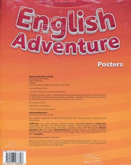 New English Adventure 2 Posters