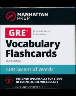 GRE Vocabulary Flashcards - 500 Essential Words - 3rd Edition