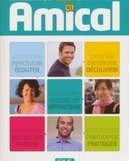 Amical 1 Méthode de francais Livre de l'éleve + MP3 CD audio + Corrigés et transcriptions