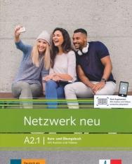 Netzwerk neu A2.1 – Kurs- und Übungsbuch mit Audios und Videos
