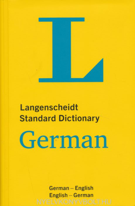 Langenscheidt Standard Dictionary German: Deutsch-Englisch/Englisch-Deutsch