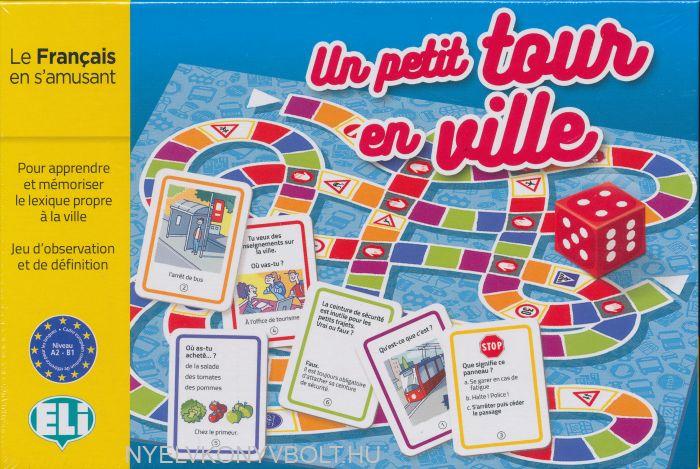 ELI Language Games: Un petit tour en ville (Társasjáték)