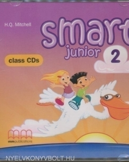 Smart Junior level 2 Class audio CDs (2)