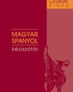 Magyar-spanyol kéziszótár (MX-1317)